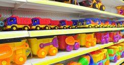 Für jedes Alter das richtige Spielzeug