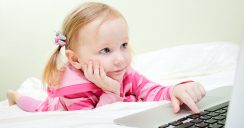 Die Onlinewelt der Kinder beginnt früher als gedacht