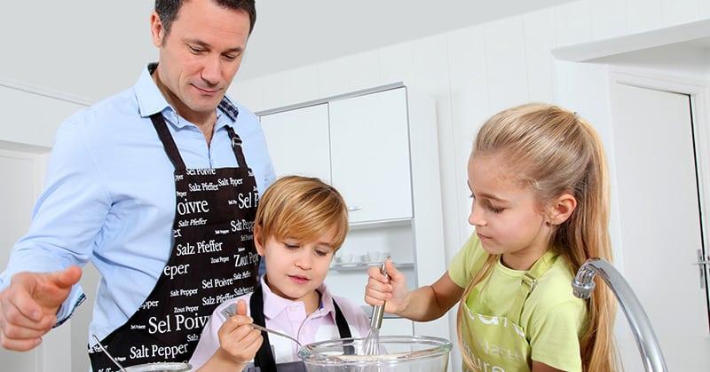 Kochen mit Kindern – ein großer Spaß