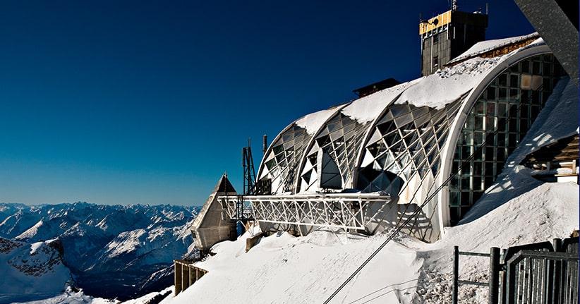 Der Neubau der Seilbahn auf die Zugspitze bricht drei Rekorde