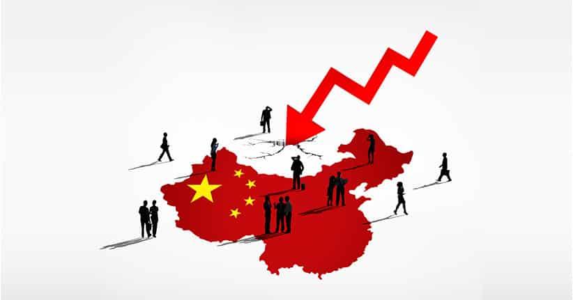 Chinas Wirtschaft stürzt ins Bodenlose