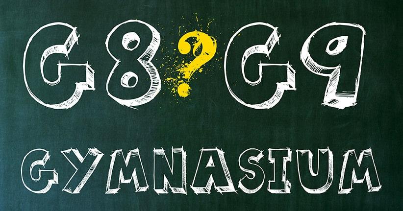 G8 oder Gymnasium – die Vor- und die Nachteile