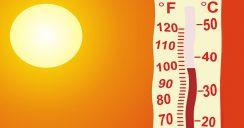 Große Hitze lässt die Ozonwerte ansteigen