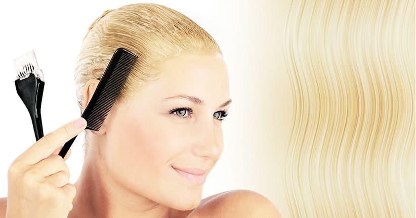 Haare färben ohne Schaden dank Olaplex