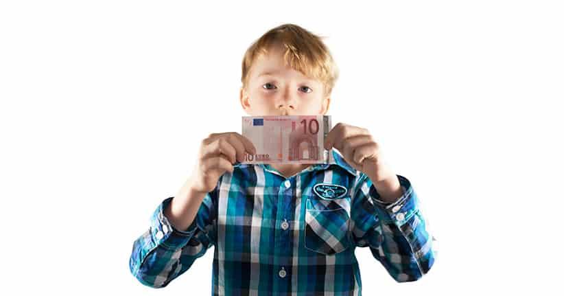 Wie viel Taschengeld bekommen deutsche Kinder?