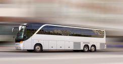 Per Fernbus auf Reisen