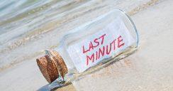 """Tipps rund um """"Last Minute"""""""