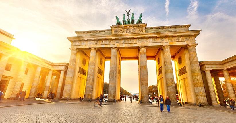 Berlin und Deutschland feiern Tag der der Deutschen Einheit
