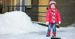 Winterzeit bedeutet Schneeräumpflicht