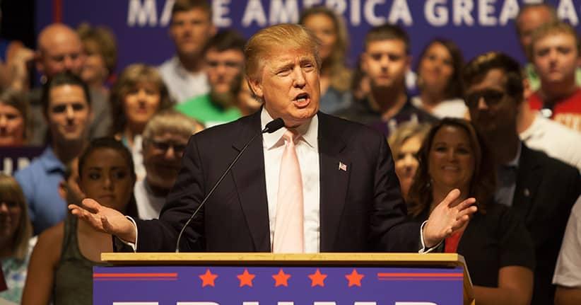 Donald Trump – Unterstützung von prominenter Seite