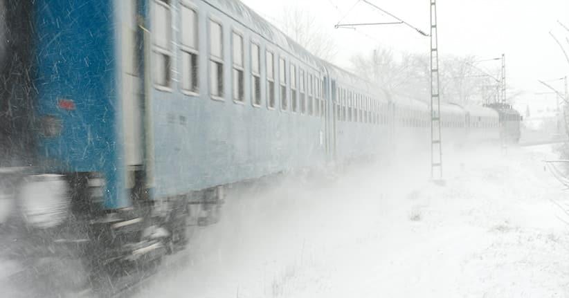 Wintereinbruch in Deutschland – Bahn wurde eiskalt erwischt