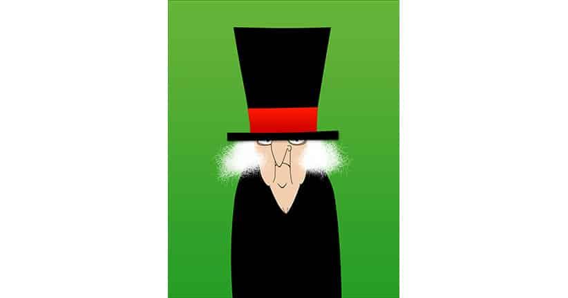 Ebenezer Scrooge und Weihnachten