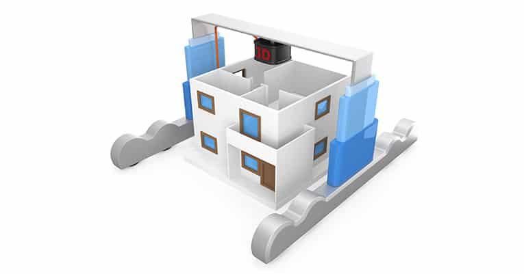 China – Villa aus dem 3D-Drucker