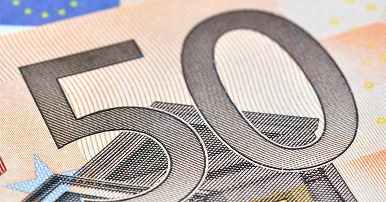Neuer 50-Euro-Schein mit Speziallackierung