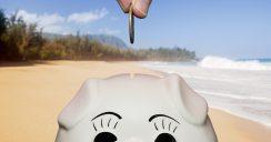 Mit unseren Spartipps im Urlaub Geld sparen