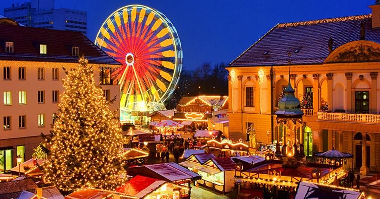 Außergewöhnliche Weihnachtsmärkte in Deutschland