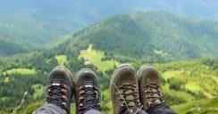 Mit den richtigen Schuhen immer entspannt wandern