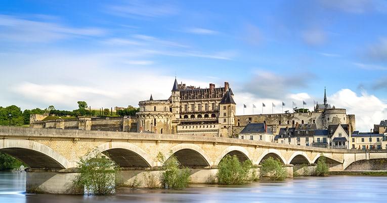 Mit dem Fahrrad zu den Schlössern der Loire