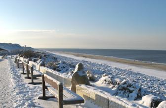 News: Marvellous winter feeling on the North Sea coast